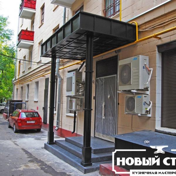 Навес на ул.Фадеева