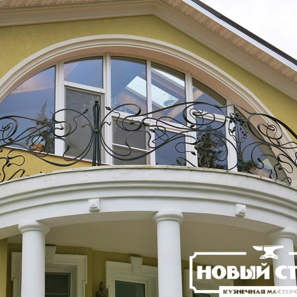 Кованый балкон на заказ